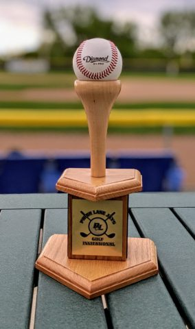Hardball Invitational Golf Trophy